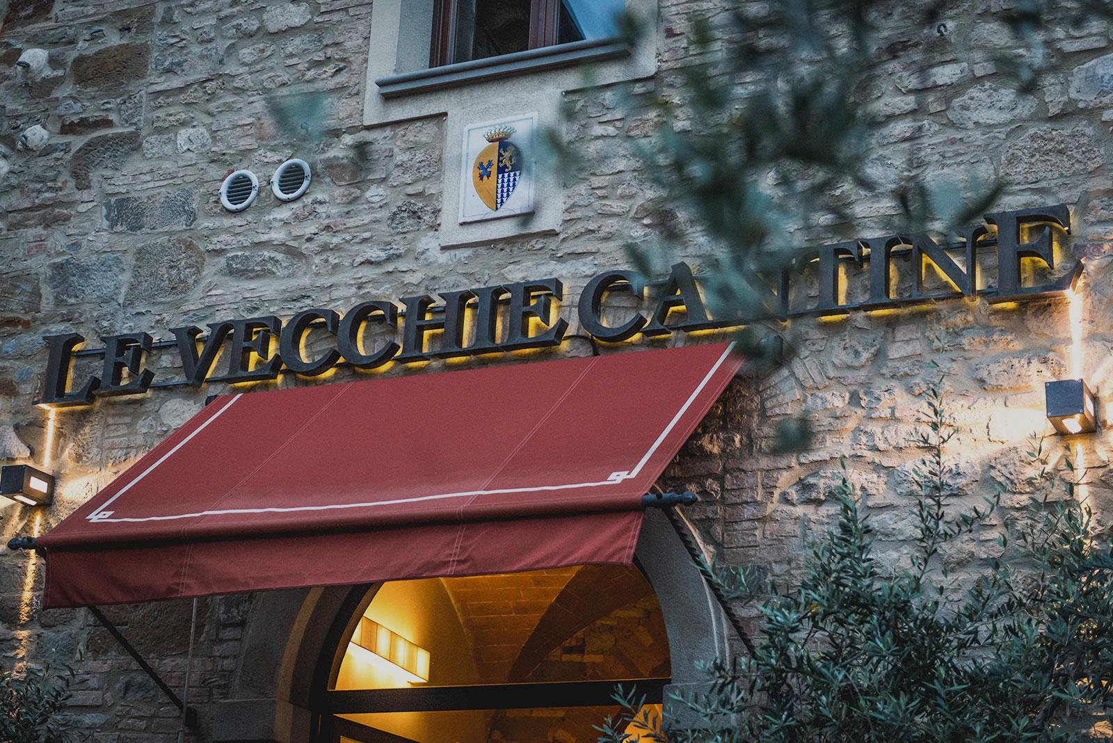 ristorante le vecchie cantine a chianni - veduta dall'esterno