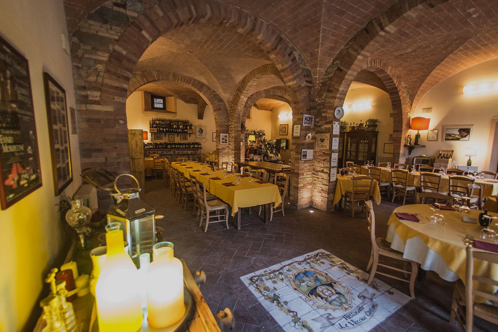 ristorante le vecchie cantine a chianni - ristorante
